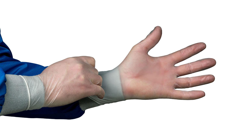 HandPRO 550 Vinyl CE Gloves