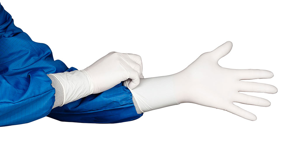 HandPRO 7100 Nitrile Cleanroom Gloves