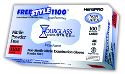 FreeStyle1100 Nitrile Exam Gloves