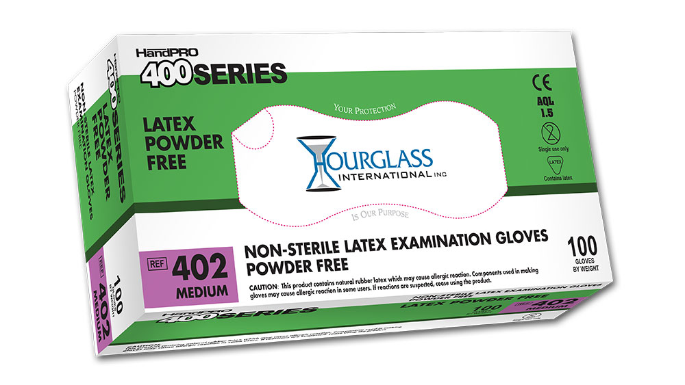HandPRO 400 Latex Exam Gloves