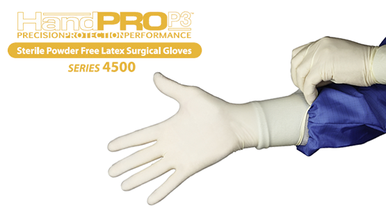 HandPRO P3 Series 4500 Latex Surgical Gloves