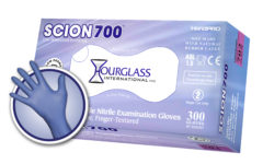 Scion700 Nitrile Exam Gloves with Low Dermatitis Potential